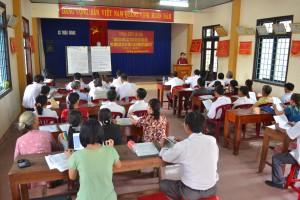 Xã Triệu Giang mong muốn tiếp tục có dự án hỗ trợ người dân thích ứng BĐKH
