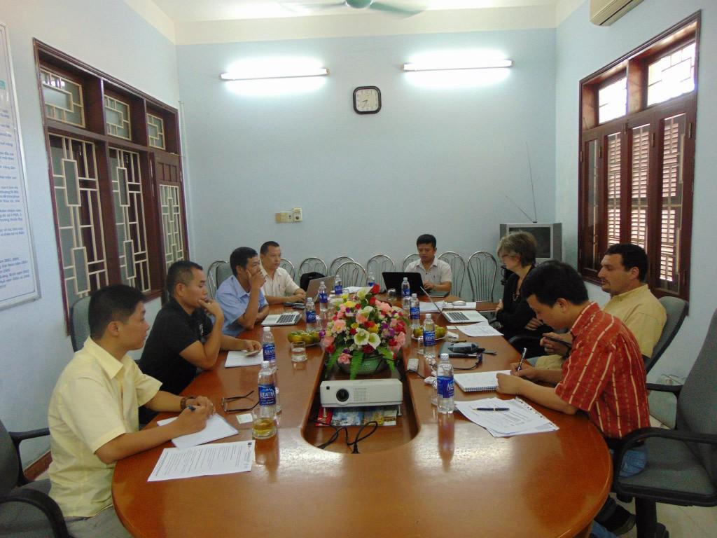 Đoàn EU đến thăm và trao đổi với Dự án FLEGT - Khu vực miền Trung