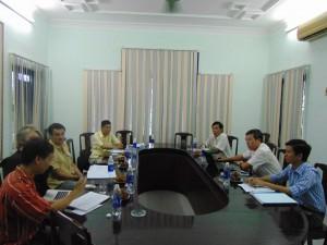 Hai bên trao đổi những cơ hội và thách thức của VPA đến ngành Lâm Nghiệp Việt Nam