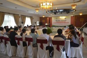 Gần 60 đại biểu đã về dự Hội thảo - tập huấn