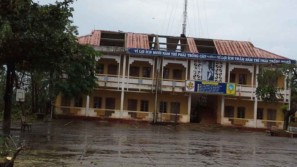 23. Trường TH Vinh Tu trước sửa chữa
