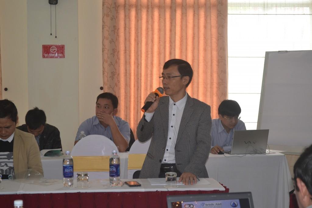 Ông Nguyễn Quang Cường phát biểu chỉ đạo hội thảo