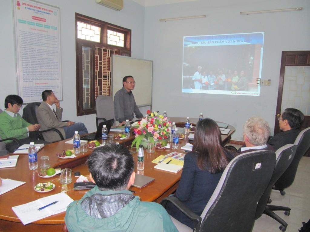 Cuộc họp giữa CRD với Công ty CP Đông Phương